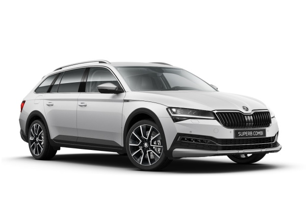 Skoda Superb Scout wheels and tires specs icon
