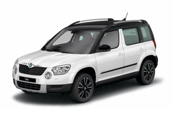 Skoda Yeti wheels and tires specs icon