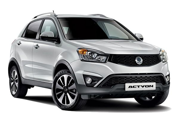 SsangYong Actyon wheels and tires specs icon