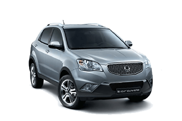 SsangYong Korando С wheels and tires specs icon