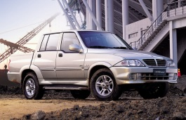 SsangYong Musso Sports wheels and tires specs icon