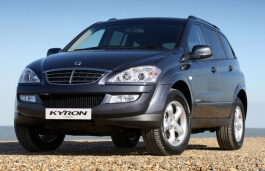 SsangYong Kyron wheels and tires specs icon