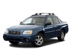 Subaru Baja wheels and tires specs icon