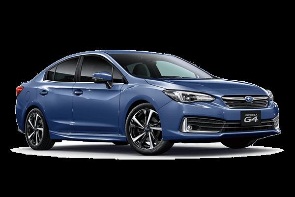 Subaru Impreza G4 wheels and tires specs icon