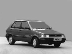 Subaru Justy wheels and tires specs icon