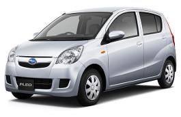 Subaru Pleo wheels and tires specs icon