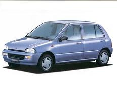 Subaru Vivio wheels and tires specs icon