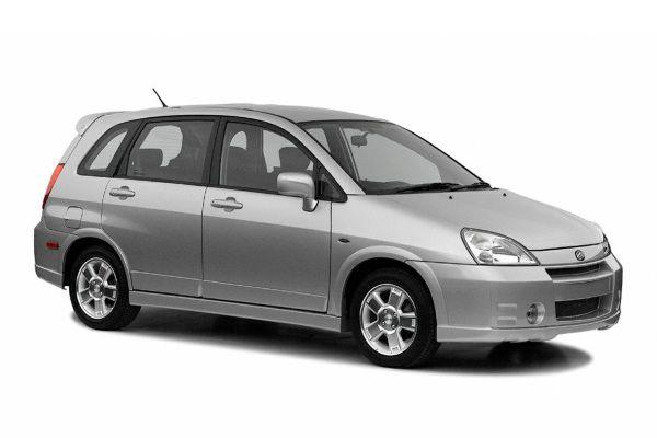 Suzuki Aerio wheels and tires specs icon