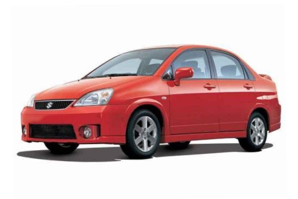 Suzuki Aerio Sedan wheels and tires specs icon