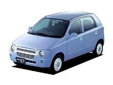Suzuki Alto C2 wheels and tires specs icon