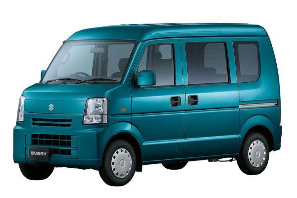 Suzuki Every wheels and tires specs icon