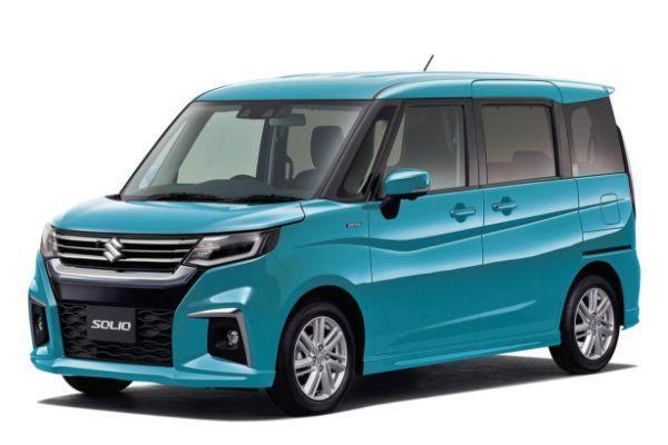 Suzuki Solio wheels and tires specs icon