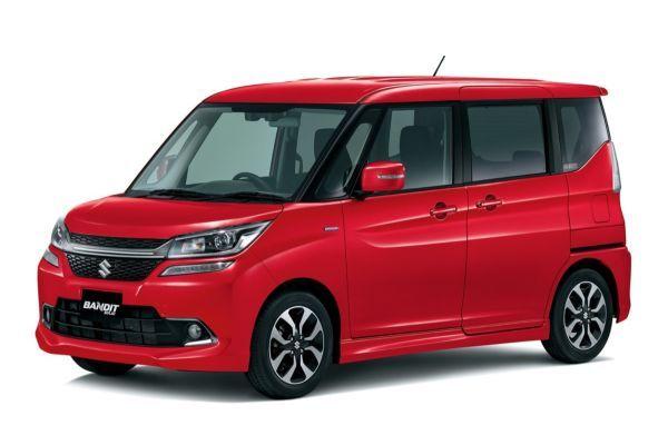 Suzuki Solio Bandit wheels and tires specs icon