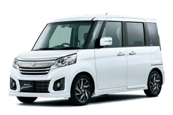 Suzuki Spacia Custom wheels and tires specs icon