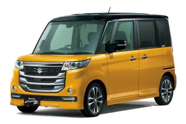 Suzuki Spacia Custom Z wheels and tires specs icon