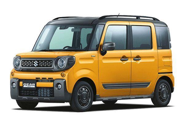 Suzuki Spacia GEAR wheels and tires specs icon