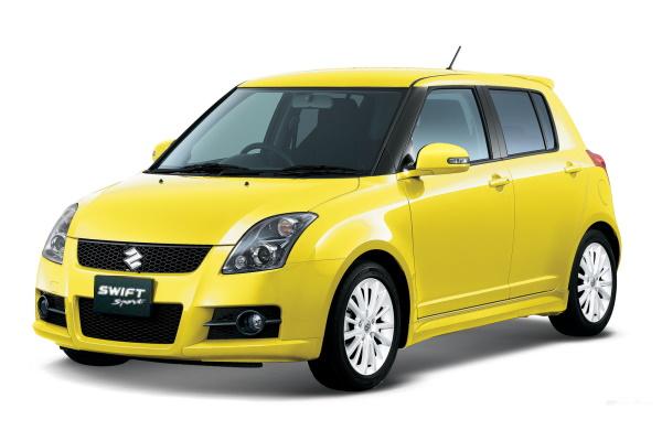 Suzuki Swift Sport wheels and tires specs icon