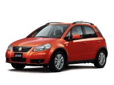 Suzuki SX4 wheels and tires specs icon