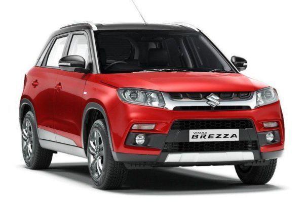 Suzuki Vitara Brezza wheels and tires specs icon