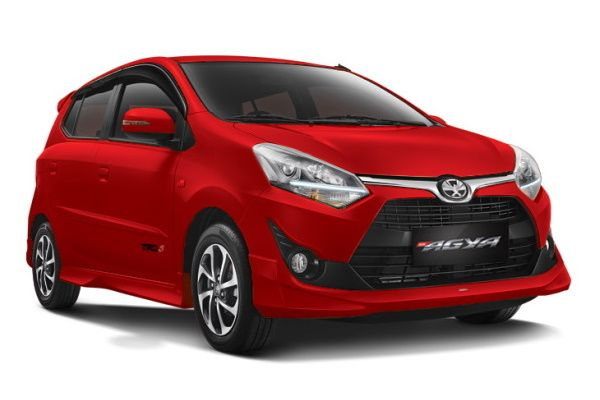 Toyota Agya wheels and tires specs icon