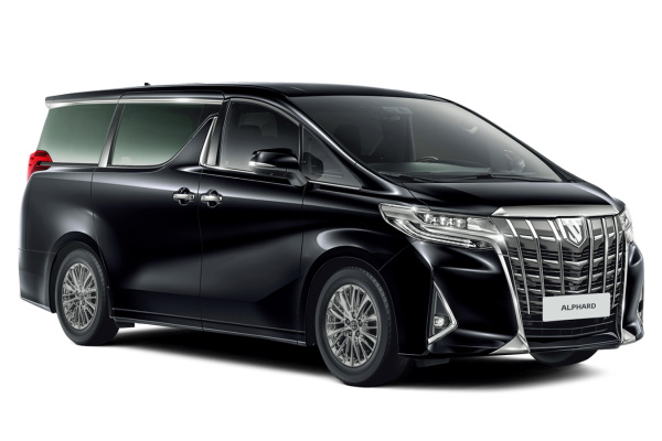 Toyota Alphard wheels and tires specs icon