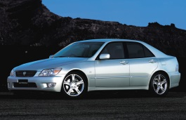 Toyota Altezza wheels and tires specs icon