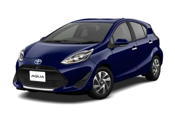 Toyota Aqua wheels and tires specs icon