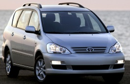 Toyota Avensis Verso wheels and tires specs icon