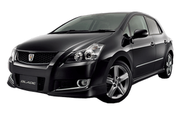 Toyota Blade wheels and tires specs icon