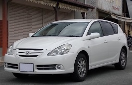 Toyota Caldina wheels and tires specs icon