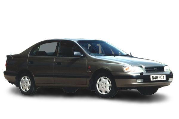 Toyota Carina E wheels and tires specs icon