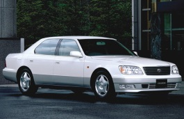 Toyota Celsior wheels and tires specs icon