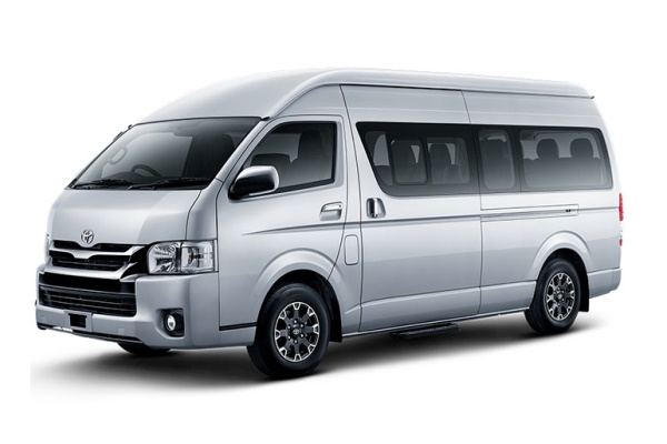 Toyota Commuter wheels and tires specs icon