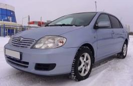 Toyota Corolla IX (E120, E130) Facelift Saloon