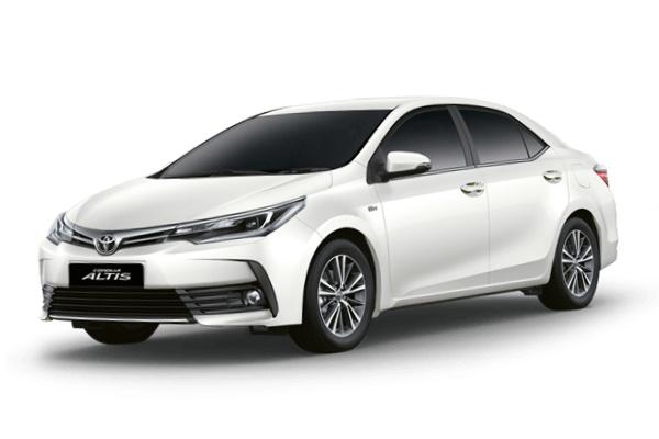 Toyota Corolla Altis wheels and tires specs icon