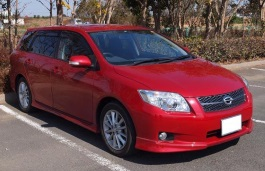 Toyota Corolla Fielder wheels and tires specs icon