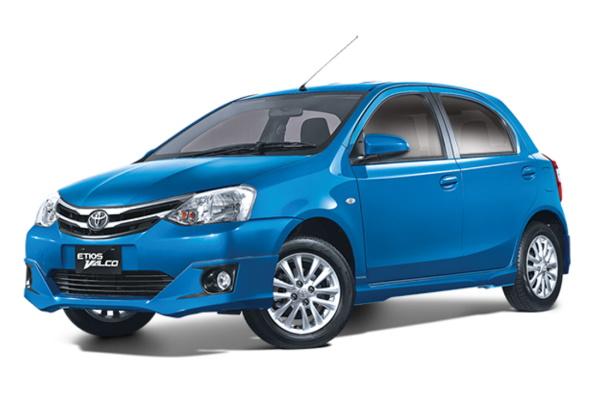 Toyota Etios Valco wheels and tires specs icon