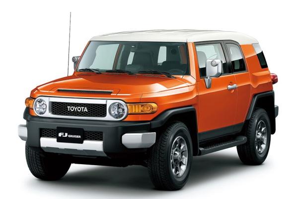 Toyota FJ Cruiser wheels and tires specs icon