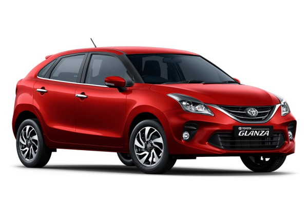 Toyota Glanza wheels and tires specs icon