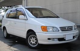Toyota Ipsum wheels and tires specs icon