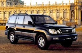 Toyota Land Cruiser Cygnus wheels and tires specs icon