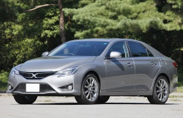 Toyota Mark X wheels and tires specs icon