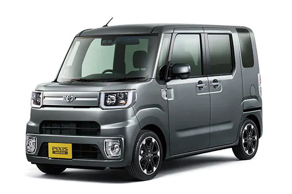 Toyota Pixis Mega wheels and tires specs icon