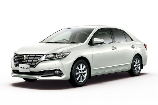 Toyota Premio II Facelift (T260) Saloon