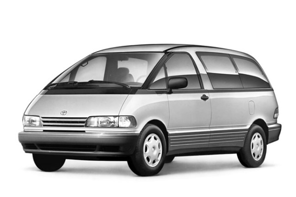 Toyota Previa wheels and tires specs icon