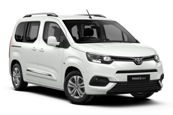 Toyota Proace City Verso wheels and tires specs icon