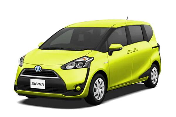 Toyota Sienta wheels and tires specs icon