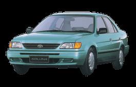 Toyota Soluna wheels and tires specs icon
