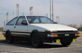 Toyota Sprinter Trueno IV (E80) Coupe