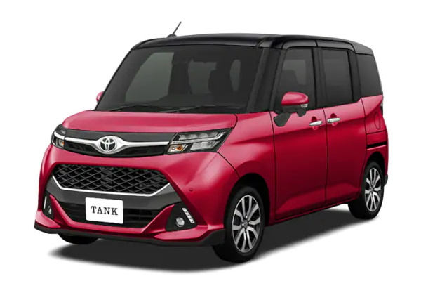 Toyota Tank wheels and tires specs icon